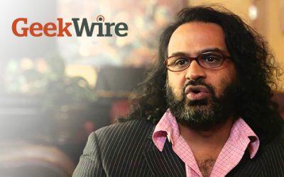 Quantarium's Romi Mahajan Covered in Geekwire