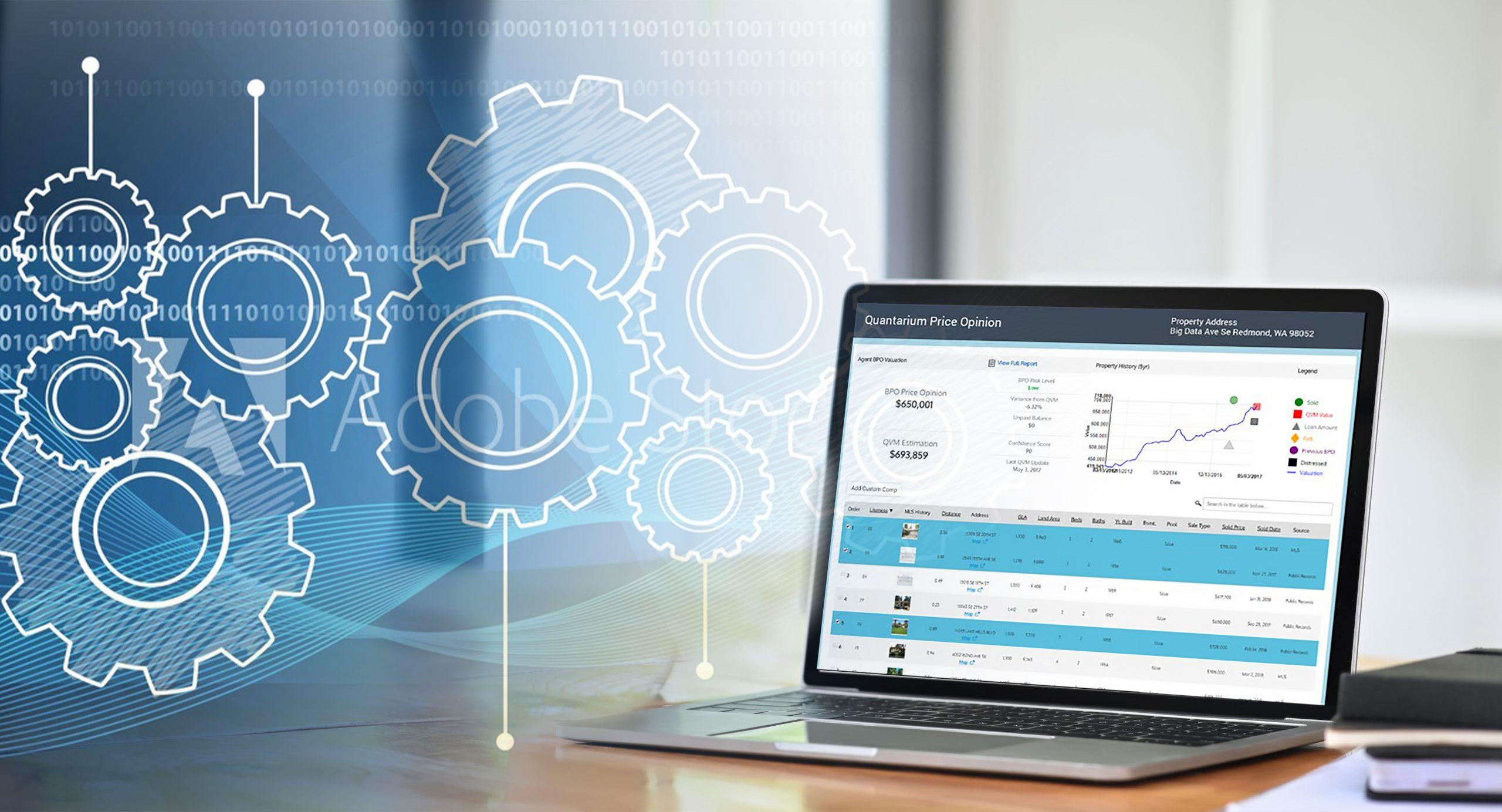 Quantarium Valuation Services Platform Product